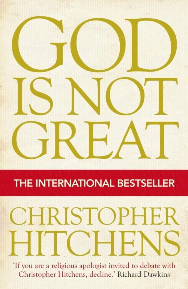 god is not great by christopher hitchens Hitchens seldom fails to deliver an impressive performance, and he does so in god is not great, where the arguments are brilliant and the language marvelously crafted if one is disposed to his.