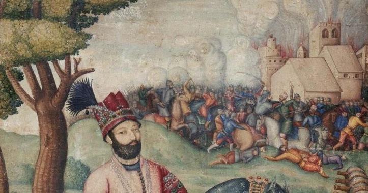 Nadir_Shah_at_the_sack_of_Delhi